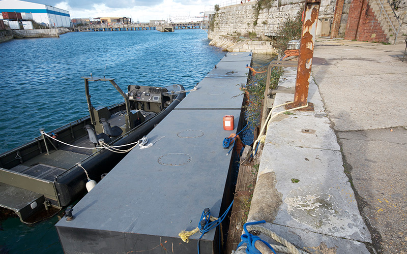 Pontoons-used-for-Military-support-in-Weymouth